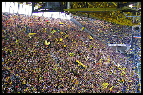 westfalenstadion Scariest Stadiums in World Football