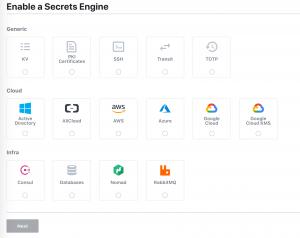 vault-available-secret-engines