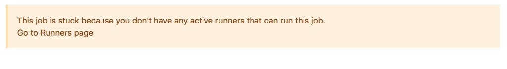 gitlab-job-stuck-no-runners