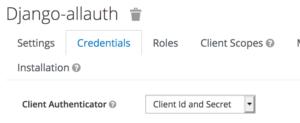 view-client-secret-allauth-keycloak