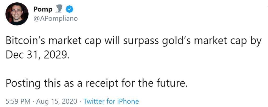 bitcoin-pass-gold-market-cap