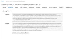 keycloak-awx-client-saml-endpoint